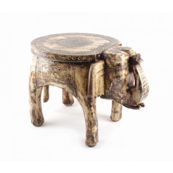 Table basse eléphant