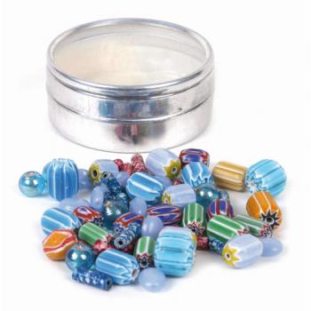 Kit de perles, couleurs turquoises