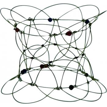 Jeu en fil de fer / mandalon, ø env. 11 cm