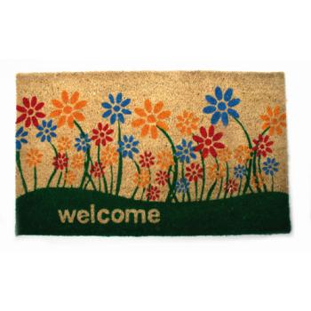 """Paillasson en fibres de coco """"bienvenue"""""""