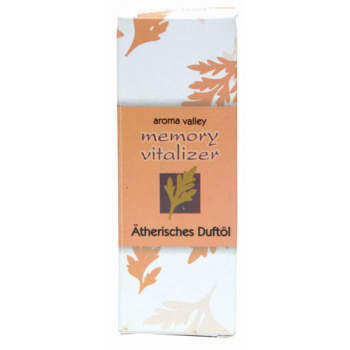 "Huile essentiellle parfumée, ""memory vitalizer"","