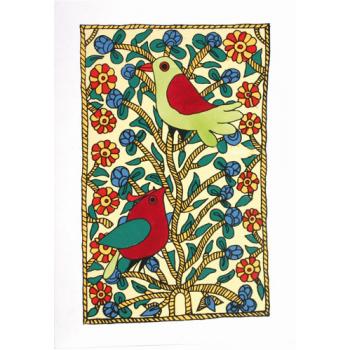 """Carte de vœux """"oiseau"""""""