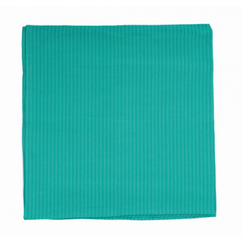 Nappe carrée turquoise