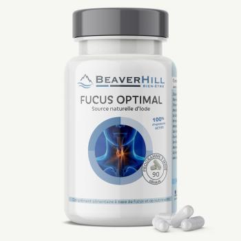 FUCUS Optimal - Iode - Vitamines B1, B2, B6, Zinc, Manganèse, Sélénium
