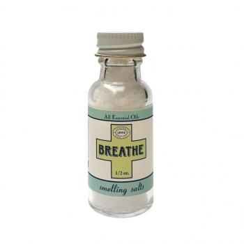 Sels Odorants Naturels aux Huiles Essentielles Breathe (respiration)
