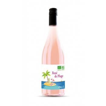 """""""rosé plage"""" bio rosé 75 cl"""