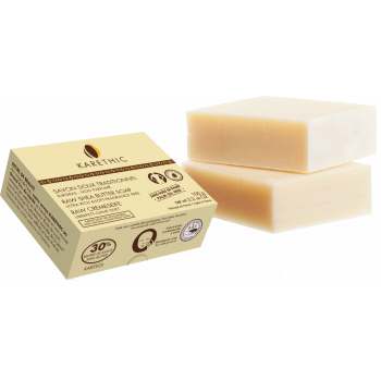 Savon doux traditionnel surgras beurre de karité / olive / coco - 100g