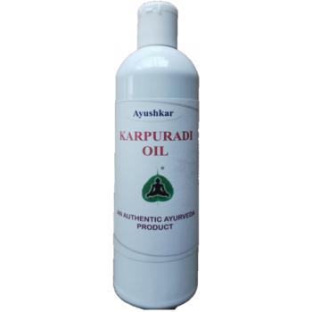Huile de massage ayurvédique Karpuradi coco - 200 ml