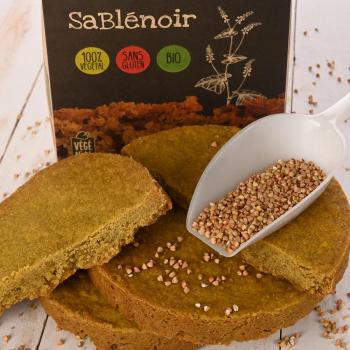 Gâteau sablé au blé noir Sablénoir 380g