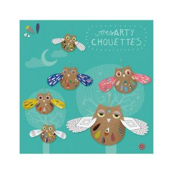 Kit créatif Chouettes en carton