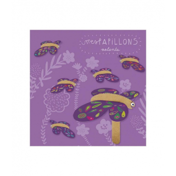 Kit créatif Papillons volants en carton