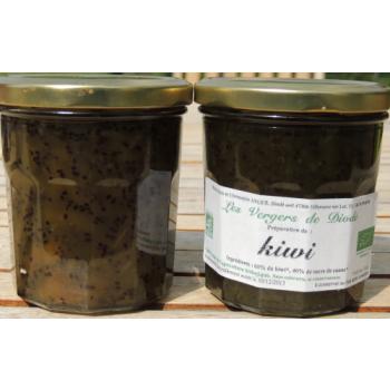préparation de kiwi