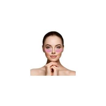 Masque Konjac Contour des Yeux à la Rose Réutilisable