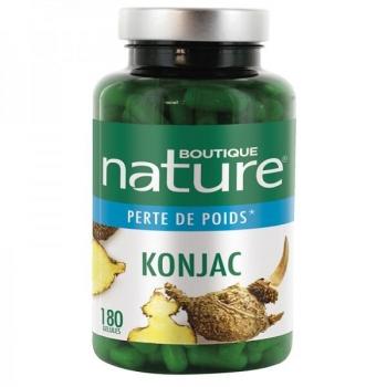 Konjac - 180 gélules - Boutique Nature