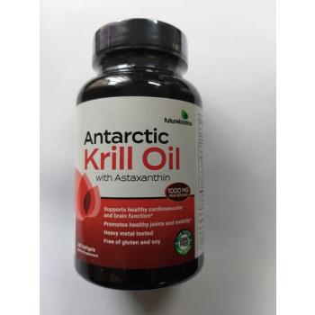Huile de krill antarctique à l'astaxanthine, 1000 mg, 180 capsules à enveloppe molle