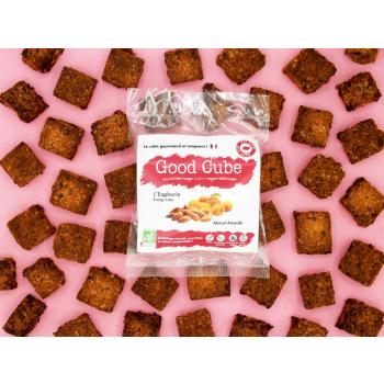 """Biscuits croustillants aux abricots et amandes """"L'Euphorie"""" BIO - 35g"""