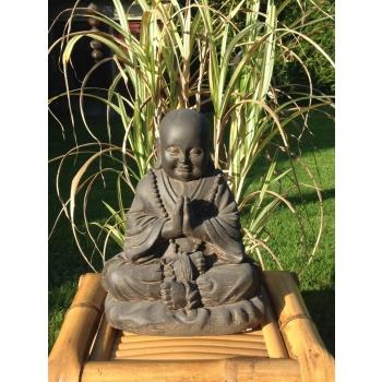 Statue moine bouddhiste 25 cm