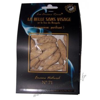 La Belle Sans Visage -Encens rares ®- Purifiant, Sachet de 25 grammes