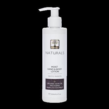 Lait hydratant naturel pour le corps et les mains - Passion Exotique - 250ml