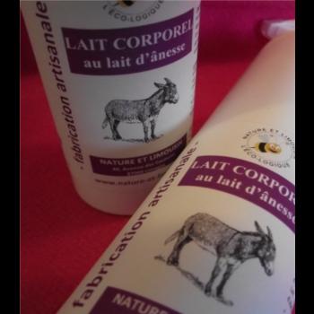 LAIT CORPOREL AU LAIT D ANESSE - Flacon opaque de 250 ml avec pompe-