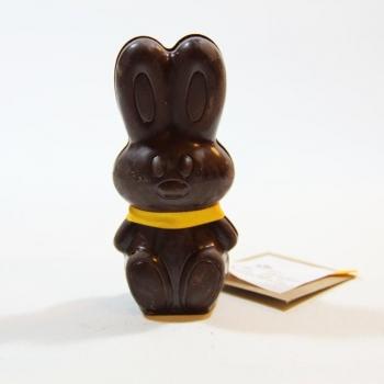 Lapin de Pâques - chocolat noir incrusté de surprises