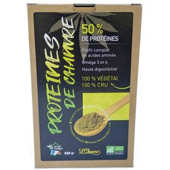 Protéines de chanvre (50%) de Protéines végétale., 250 g
