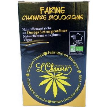Farine de chanvre biologique, protéine 100% végétale., 250 g