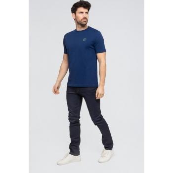 """Le""""LÉO"""": Tee-shirt 100% Coton BIO Bleu"""