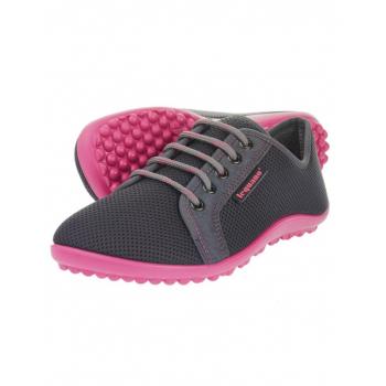 Chaussures minimalistes Leguano Aktiv (Gris et rose)