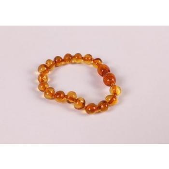 Bracelet bébé en ambre de la Baltique