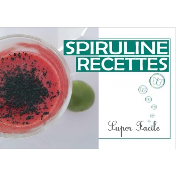 "Spiruline recettes de ""La Spiruline de Julie"""