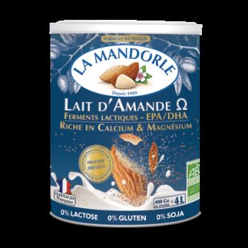 """Lait d'Amande Probiotique - Oméga 3 """"LA MANDORLE"""""""