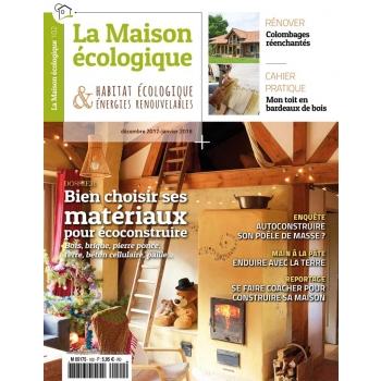 maison écologique 102-Bien choisir ses matériaux