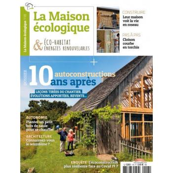couverture La Maison écologique n°118