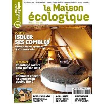 La Maison écologique n° 91