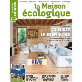 Magazine La Maison écologique n° 96