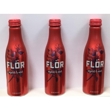 FLÖR Hibiscus 250ml - LOT DE 3 - Boisson 100% naturelle