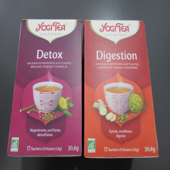 Infusions yogi tea détox et digestion