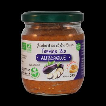 Terrine bio aubergine 200g