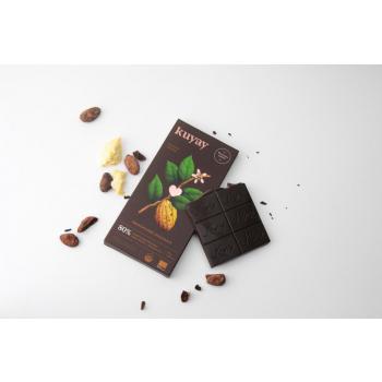 Chocolat noir Kuyay 80% - pur origine Pérou