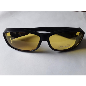 lunettes et surlunettes  polarisantes anti lumières bleues verres jaunes UV400