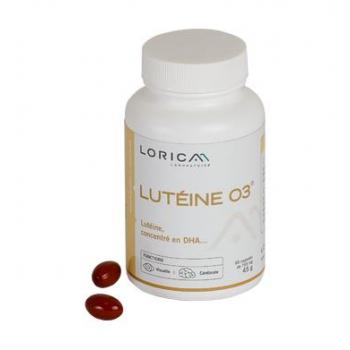 Luteine-O3_vision_lutéine_zinc_DMLA_rétine_complement-alimentaire_Lorica