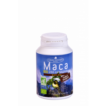 maca bio 250cp naturoconcept