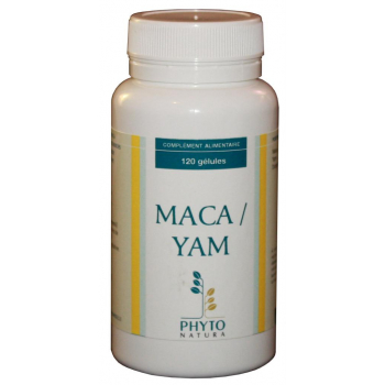 MACA YAM en 120 gélules