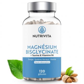 Magnésium Bisglycinate - 120 gélules