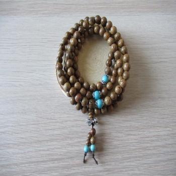 Collier ou bracelet Mala 108 perles n3