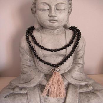 Mala tibétain 108 perles de bois