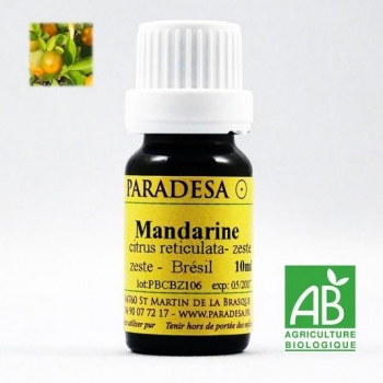 Huile essentielle BIO Mandarine 5ml
