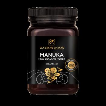 Miel de Manuka MG600-550g