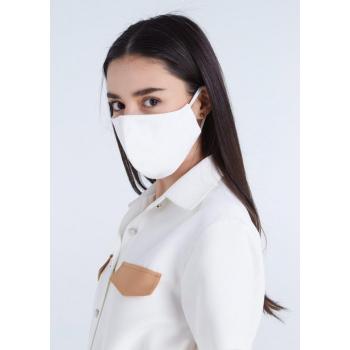 Masque barrière en mousseline/coton - LAVABLE 100 fois